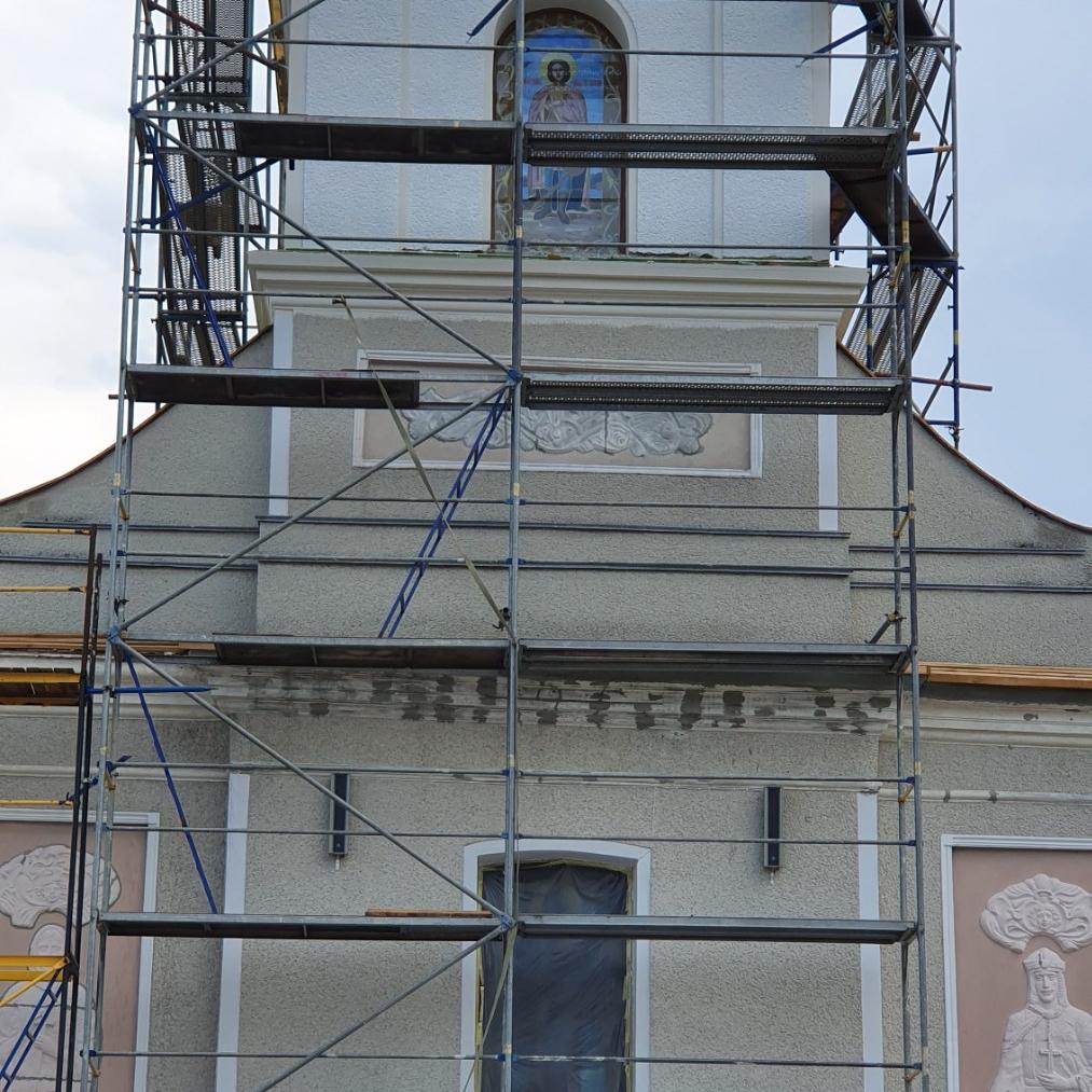Реставрація храму св. Дмитра Солунського в с. Городиславичі
