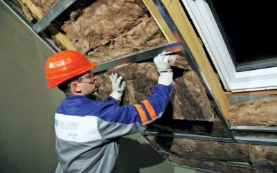 Утепление крыши минватой: преимущества и технология