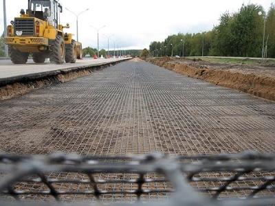 Строительство дорог из композитной арматуры